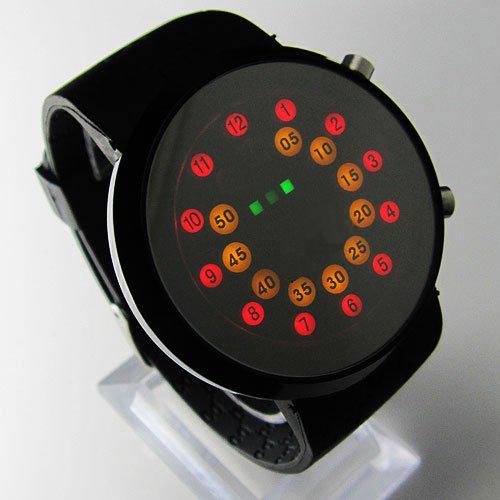 خرید ساعت ال ای دی آینه ای LED MIRROR WATCH