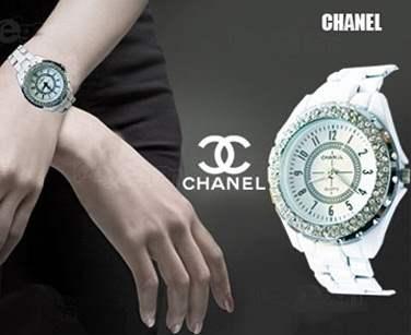 خرید ساعت مچی دخترانه چانل سفید