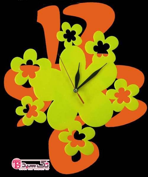 خرید ساعت دیواری مدل شکوفه