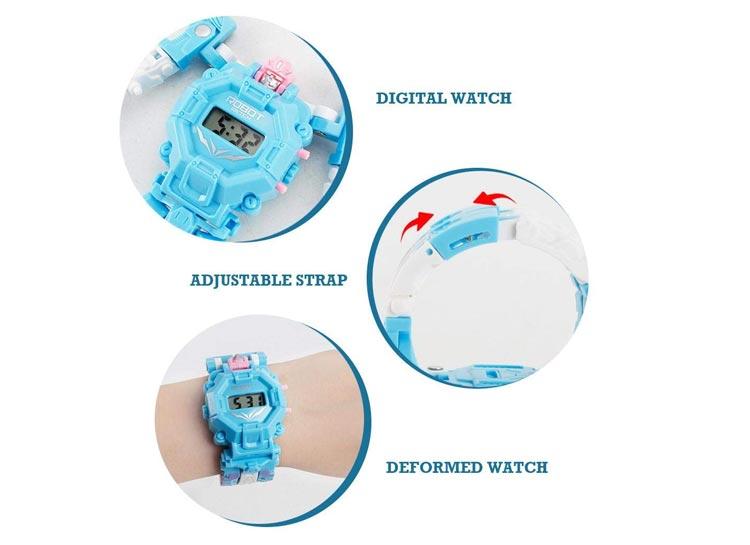 ساعت مچی بچگانه مدل ربات
