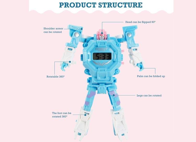 خرید اینترنتی ساعت مچی مدل ربات
