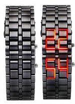 خرید ساعت سامورایی مشکی