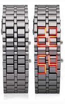 خرید ساعت سامورایی ال ای دی قرمز