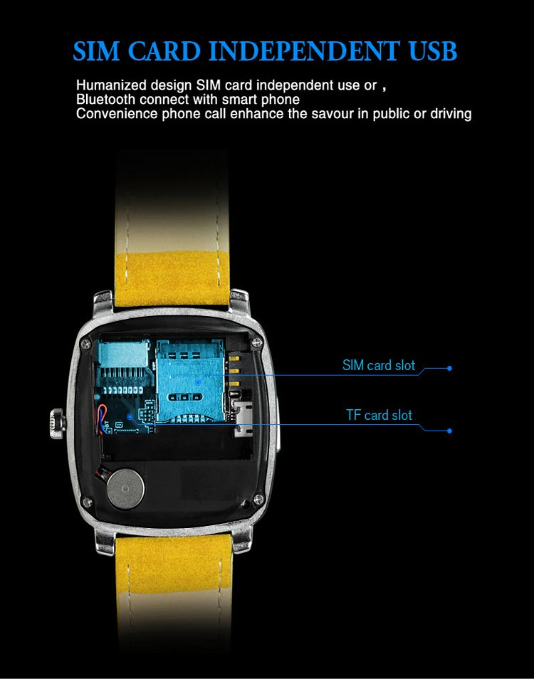 ساعت هوشمند سیم کارت خور