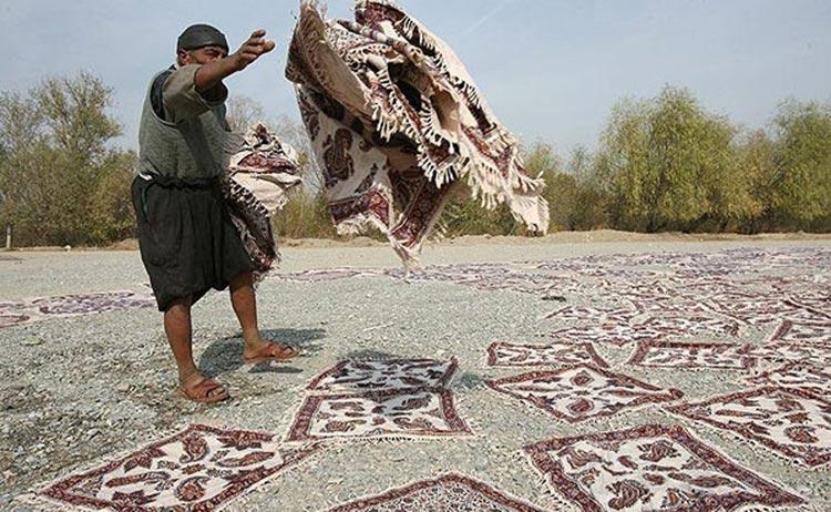 سفره قلمکاری اصفهان