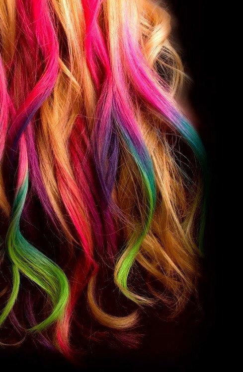 رنگ موی فوری