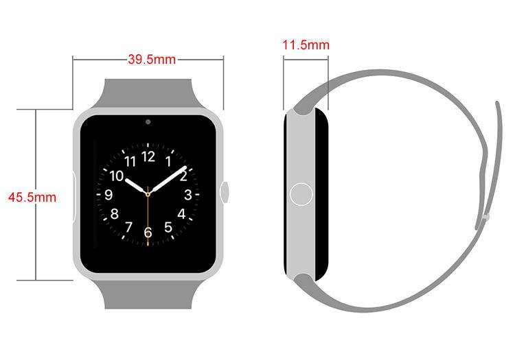 ساعت مچی طرح اپل