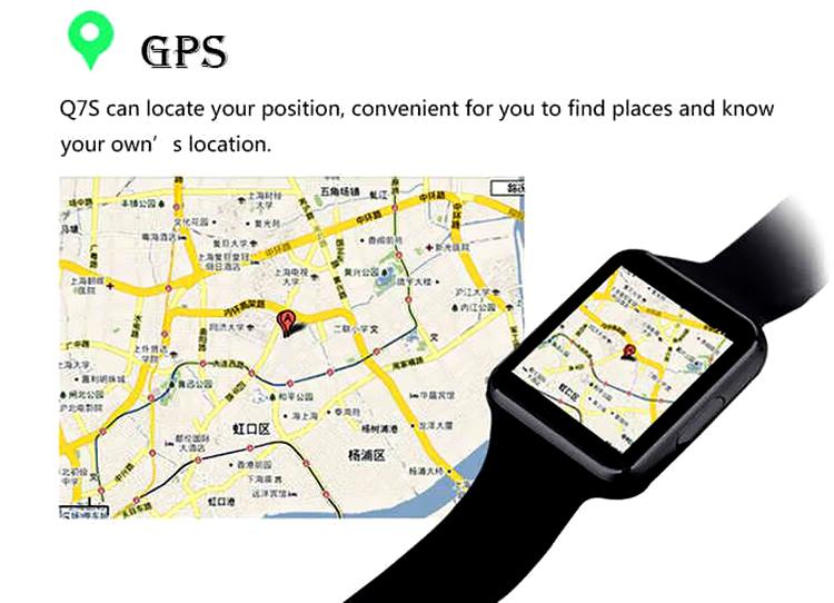 ساعت مچی هوشمند GPS دار