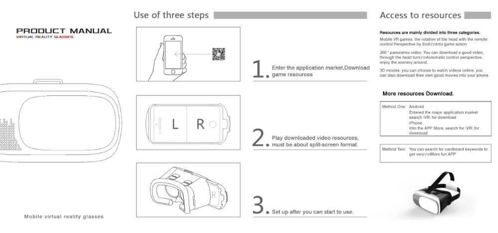 راهنمای کار با هدست واقعیت مجازی وی آر باکس