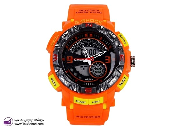 G-SHOCK ORANGE WATCH