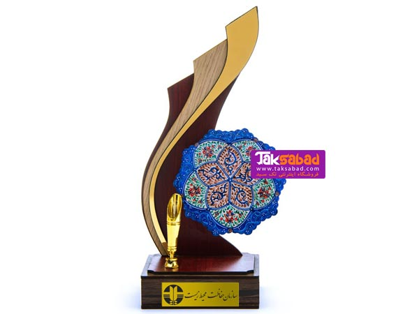 تندیس تبلیغاتی میناکاری اصفهان