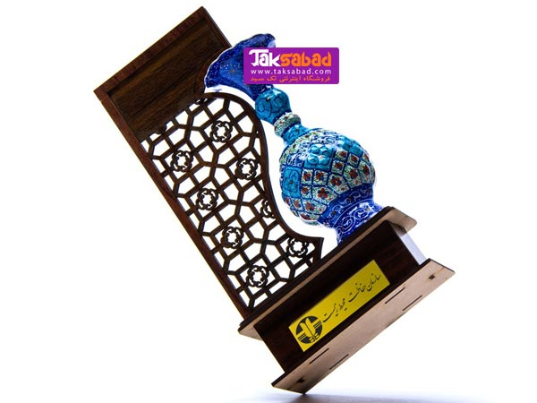 تندیس میناکاری هدیه تبلیغاتی گلدان