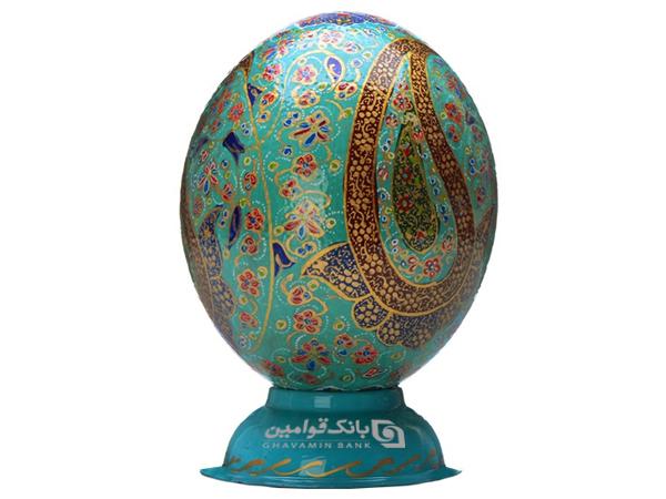 هدیه تخم تزئینی شترمرغ